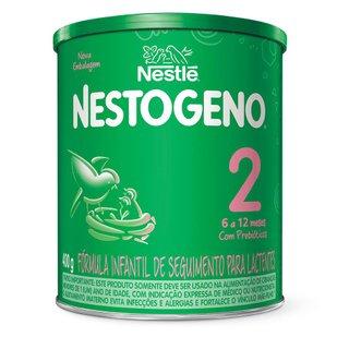 Nestlé Fórmula Infantil Nestogeno 2 Lata 400g