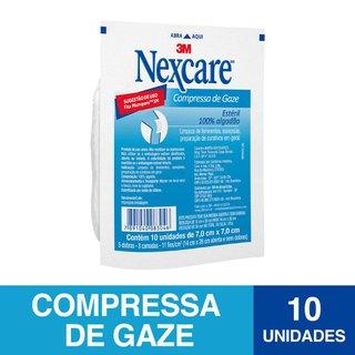 Compressa Gaze Esteril Nexcare C/10