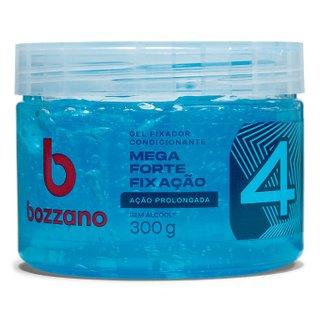 Gel Fixador De Cabelo Bozzano Ação Prolongada Azul 300g