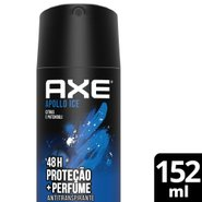 Desodorante Aerosol Seco Axe Apollo 152ml