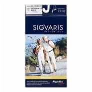 Sigvaris Algodão Super 3/4 - Compressão 20-30 Mmhg Tam Gg Altura Normal Ponteira Aberta Bege