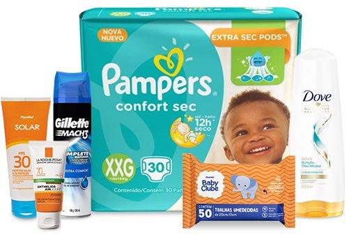 Troque pontos por produtos de higiene e beleza